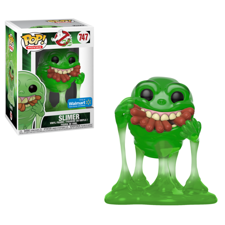 Slimer #474 - Ghostbusters Walmart Exclusive (Translucent)