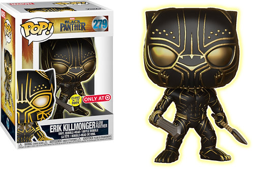 Black Panther - Erik Killmonger #279 Target Glow in the Dark! GITD