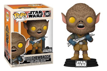 Chewbacca #387 - Star Wars Concept Series 2020 Official Con Sticker