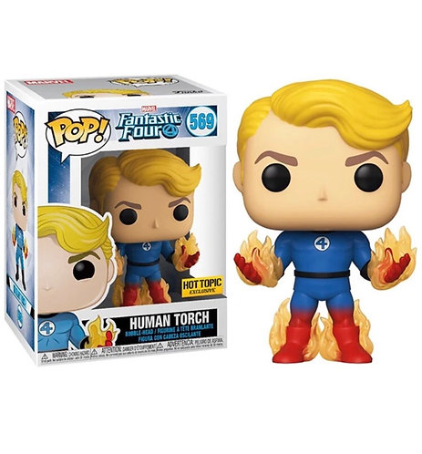 Human Torch #569 - Fantastic Four Hot Topic Exclusive