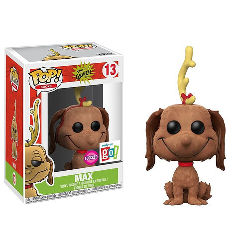 Max #13 - The Grinch Go Calendar Flocked Exclusive