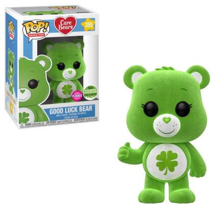 Care Bears - Good Luck Bear #355 2018 ECCC Flocked