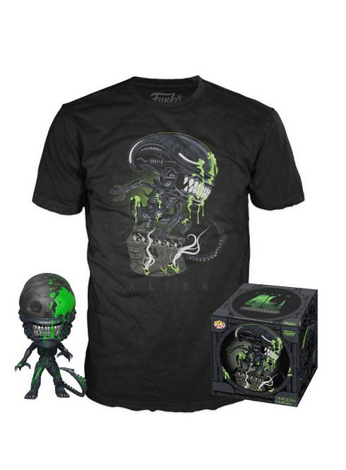 Alien Funko Pop Tee Shirt & Pop Bundle - Target Exclusive
