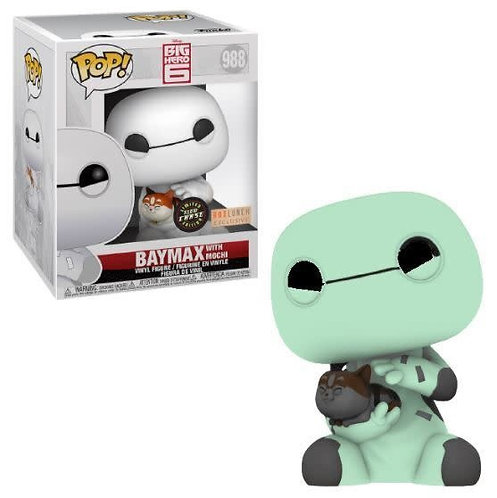 Baymax with Mochi #988 - Big Hero 6 Box Lunch Exclusive CHASE