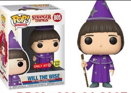 Will the Wise #805 - Stranger Things Target Exclusive (GITD)