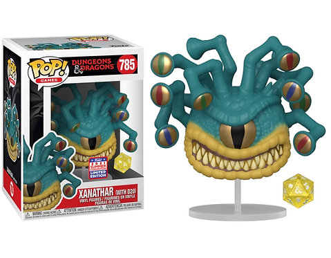 Xanathar (with D20) #785 - Dungeons & Dragons 2021 Funkon Exclusive