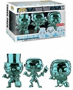 Disney's Haunted Mansion Phineas, Ezra, Gus (Chrome) - Target 3pk Exclusive