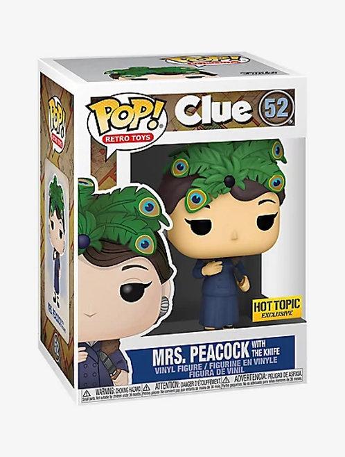 Mrs. Peacock w/ Knife #52 - Clue Hot Topic  Exclusive