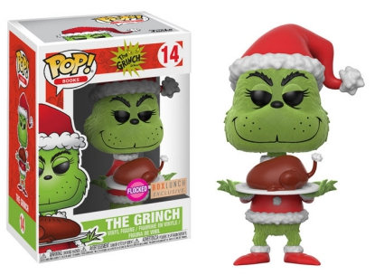 The Grinch #14 - Box Lunch Exclusive (Flocked)