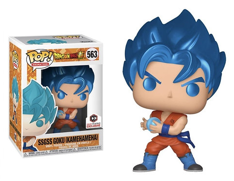 SSGSS Goku (Kamehameha) #563 - Dragonball Z Chalice Collectibles Exclusive