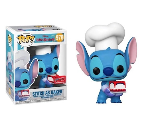Stitch as Baker #978 - Disney's Lilo & Stitch 2020 NYCC Exclusive Official