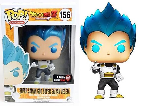 Super Saiyan God Super Saiyan Vegeta #156 - Game Stop Exclusive