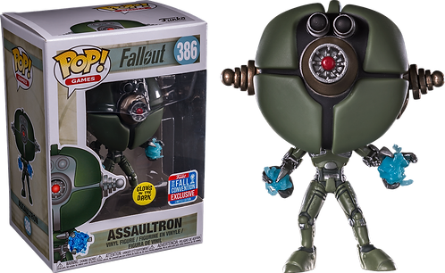 Assaultron #386 - Fallout 2018 Fall Convention Exclusive