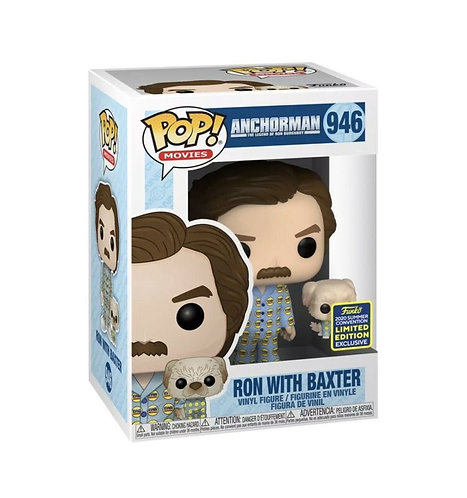 Ron with Baxter #946 - Anchorman 2020 SDCC Exclusive