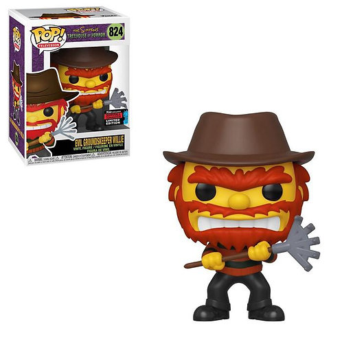 Evil Groundskeeper Willie #824 - The Simpson's 2019 NYCC Hot Topic Exclusive