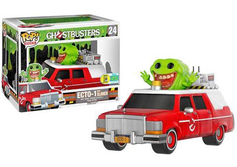 Ghostbusters Ecto-1 with Slimer #24 - SDCC Target Exclusive
