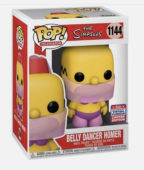 Belly Dancer Homer #1144 - 2021 Funkon Exclusive