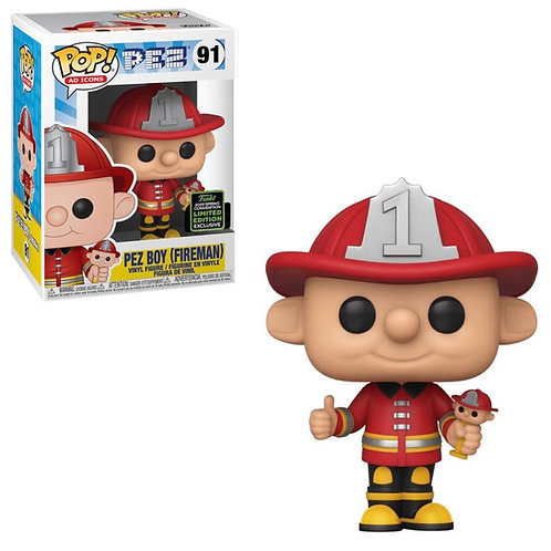 Pez Boy (Fireman) #91 - 2019 SDCC Shared Exclusive