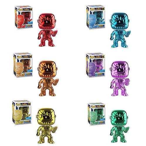 Chrome Thanos Set of 6 Walmart Exclusive
