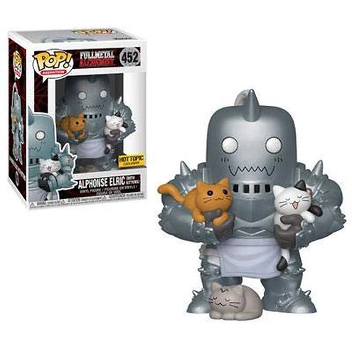 Alphonse Elric (with kittens) #452 - Fullmetal Alchemist Hot Topic Exclusive