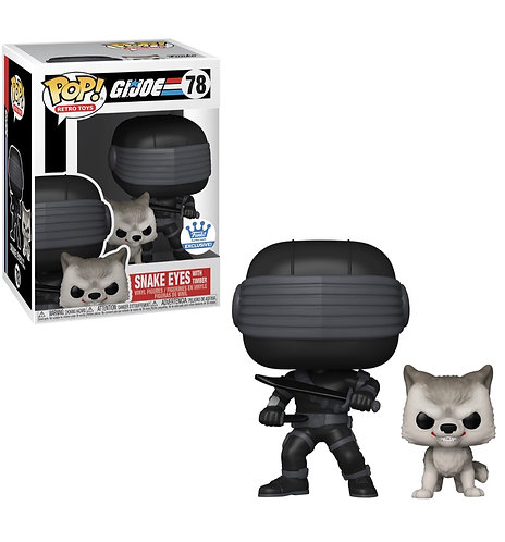 Snake Eyes with Timber #78 - GiJoe Funko Shop Exclusive