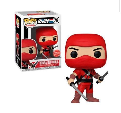 Cobra Red Ninja #79 - GiJoe GameStop Exclusive