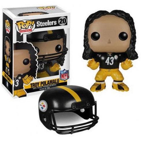 Troy Polamalu #20 - Pittsburgh Steelers 43