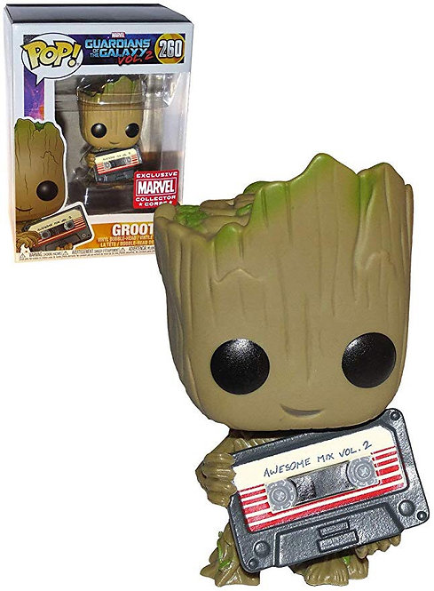 Groot #260 (Mix Tape)- Guardians of the Galaxy Marvel Collectors Corp Exclusive