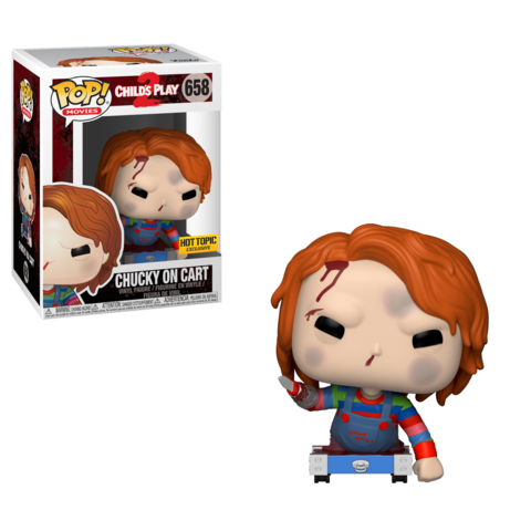 Chucky on Cart #658 - Hot Topic Exclusive