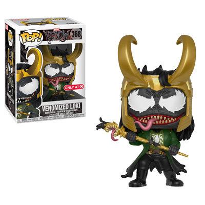 Venomized Loki #368 - Venom Target Exclusive