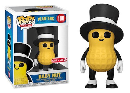 Baby Nut #108 - Planters Target Exclusive