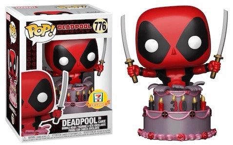 Deadpool in cake #776 - 30th Anniversary 711 Exclusive (Metallic)