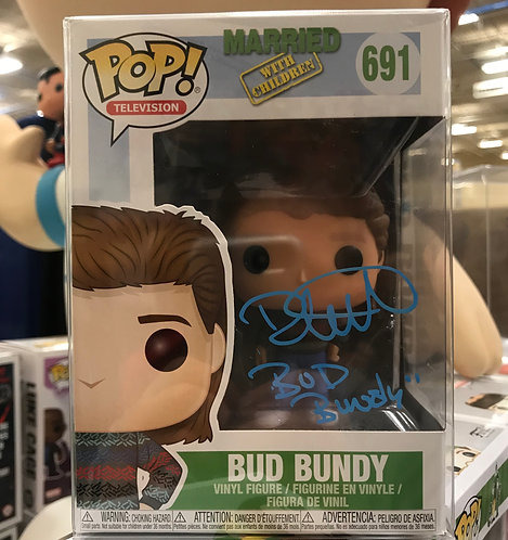 Bud Bundy #691 - Married with Children Signed by David Faustino