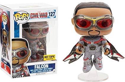 Falcon #127 - Civil War Hot Topic Exclusive