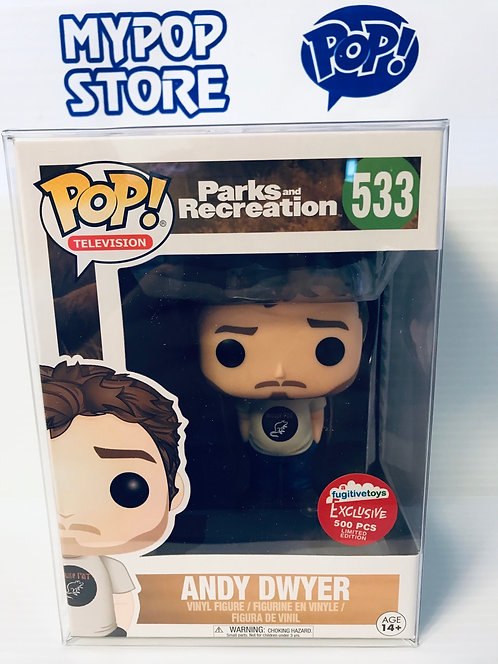 Andy Dwyer #533 - Parks and Recreation Fugitive Toys Exclusive LE500 pcs