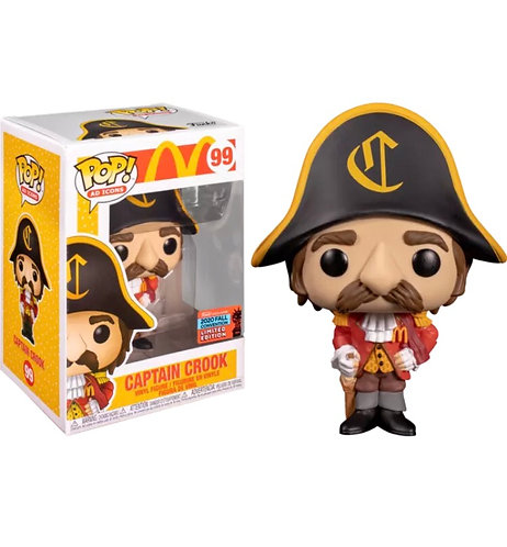 Captain Crook #99 - McDonalds 2020 NYCC Exclusive (Shared)
