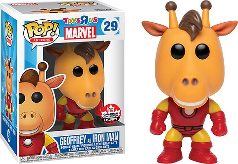 Geoffrey as Iron Man #29 - Toys R Us Fan Expo Canada Exclusive