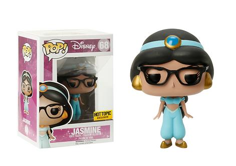 Jasmine #68 (Nerd) - Disney's Princess Hot Topic Exclusive