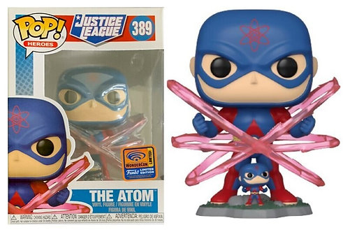 The Atom #389 - Justice League 2021 Wondercon Exclusive (Official Sticker)