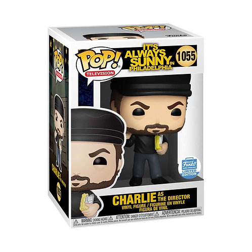 Charlie as Director #1055 - Its Always Sunny Funko Shop Exclusive