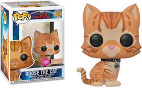 Goose the Cat #426 - Captain Marvel Box Lunch Exclusive Flocked