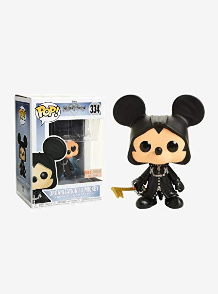 Organization 13 Mickey #334 - Kingdom Hearts Box Lunch Exclusive