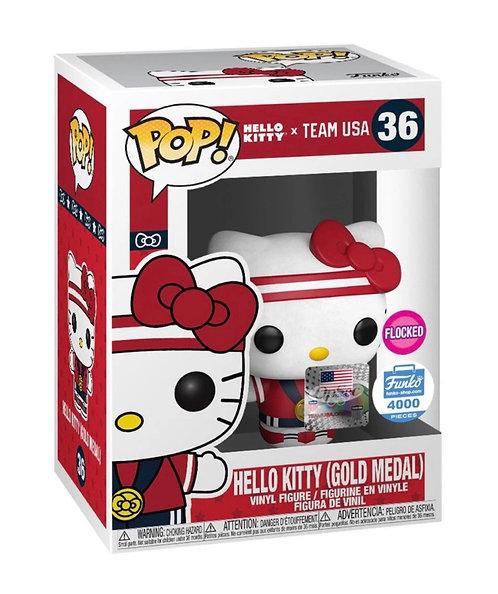 Hello Kitty (Gold Medal) #36 - Team USA Funko Shop Exclusive