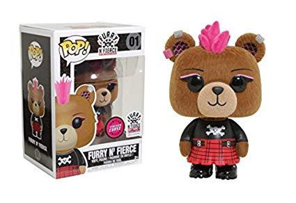 Furry N Fierce #01 - Hot Topic / Build A Bear Flocked CHASE