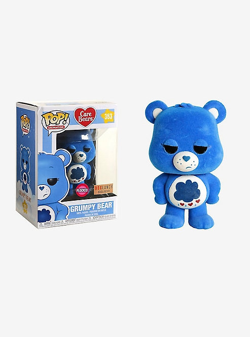 Grumpy Bear #353 - Care Bears Box Lunch Exclusive (Flocked)