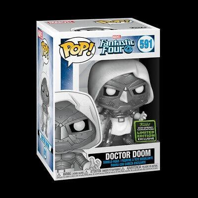 Doctor Doom #591 - Fantasic Four 2020 ECCC Target Exclusive