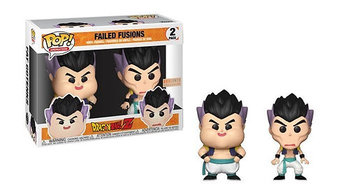 Failed Fusions - Dragonball Z 2 Pack Box Lunch Exclusive