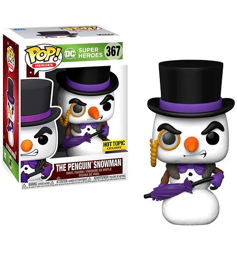 The Penguin Snowman - DC Heroes Hot Topic Exclusive