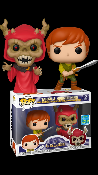Taran & Horned King 2pk - Disney's Black Cauldron 2019 SDCC Exclusive