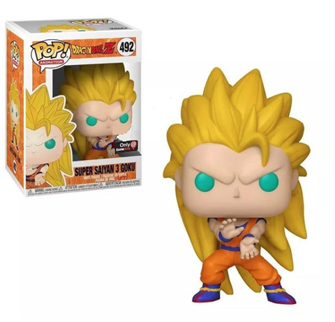 Super Saiyan 3 Goku #492 - DBZ GameStop Exclusive